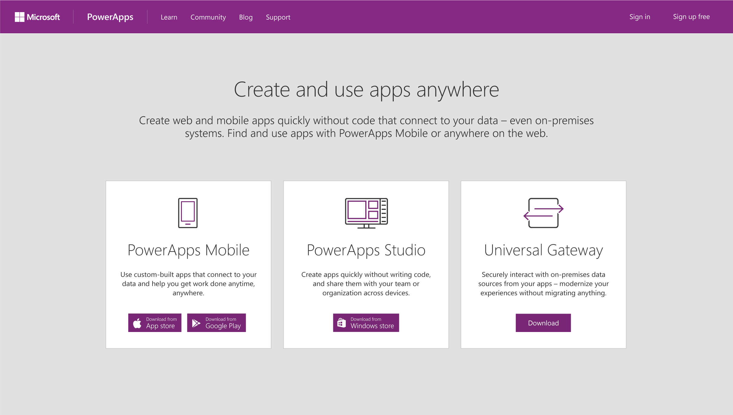 powerapps-downloads